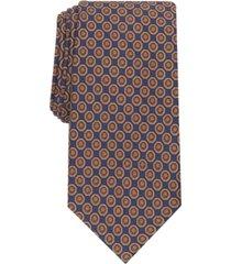 tasso elba men's tronto medallion silk necktie, created for macy's