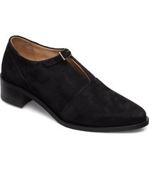 elite suede monk shoe loafers låga skor svart royal republiq