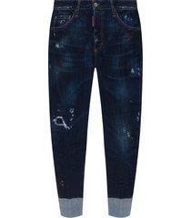 sailor' jeans met logo