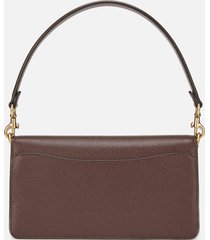 coach women's mixed leather tabby shoulder bag 26 - oxblood