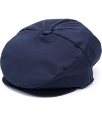 colorichiari slip-on beret - blue