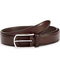 textured slim belt