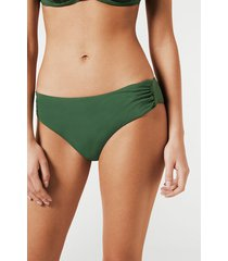 calzedonia indonesia high-waisted bikini bottoms woman green size 2