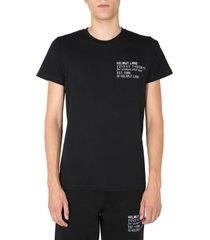 helmut lang crew neck t-shirt