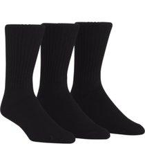 calvin klein men's cotton rich casual rib crew socks, 3-pack