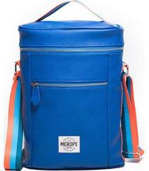 bolso azul merope paseo