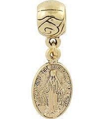 berloque narcizza semijoias nossa senhora da medalha milagrosa ouro