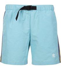 x human made shorts aqua