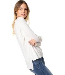 sweater blanco moni tricot