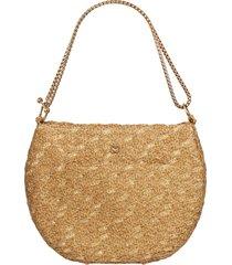 eric javits ayesha shoulder bag - brown