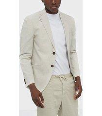 premium by jack & jones jprblarocco blazer kavajer & kostymer ljus brun