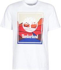 t-shirt korte mouw timberland ss kennebec river horizon graphic tee