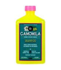 shampoo lola cosmetics camomila 250ml único