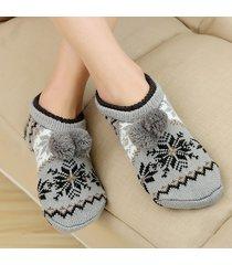 unisex piano caldo spessore calze home fondo antiscivolo calze breathable soft caviglia calze