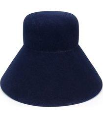 nina ricci high bucket hat - blue