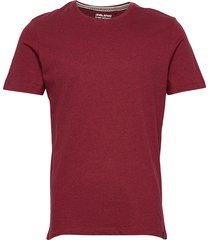 tee t-shirts short-sleeved röd blend