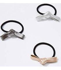 loft bow hair tie set