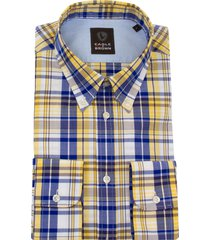 eagle & brown overhemd casual ruit