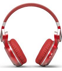 audifonos diadema inalambrico bluedio t2s hurricane rojo