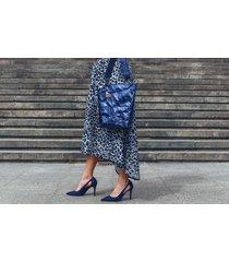 torebka z papieru [niebieski połysk] blue bag