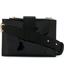 tommy hilfiger statement crossbody bag - black