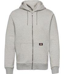 new kingsley hoodie trui grijs dickies