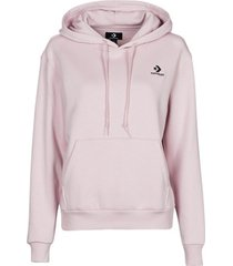 sweater converse womens embroidered star chevron pullover hoodie bb