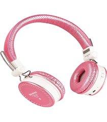 audifonos manos libres bluetooth, rosado