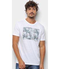 camiseta aleatory estampada manga curta masculina - masculino
