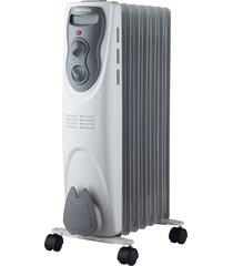 aquecedor de ambiente elétrico óleo ventisol ao, branco - 110 volts
