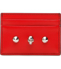 alexander mcqueen skull credit card holder