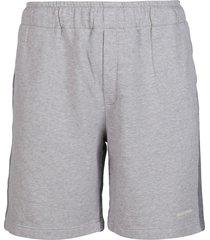 golden goose grey cotton shorts