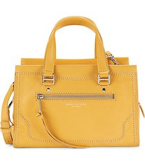 cruiser pebbled leather satchel