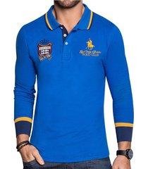 camibuzo gonzalo azul para hombre croydon