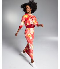 misa hylton for inc printed straight skirt, created for macy's