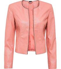 giacca in similpelle (rosa) - bodyflirt