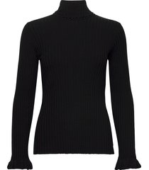 liza turtle l/s top turtleneck coltrui zwart odd molly