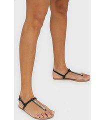 only onlmargit pu glitter split toe sand flip-flops