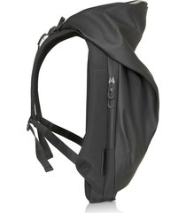 côte & ciel designer men's bags, new nile obsidian black polyester backpack
