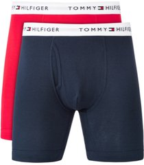 tommy hilfiger men's big & tall 2-pk. cotton classics boxer briefs