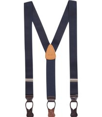 cinturon solido azul brooks brothers