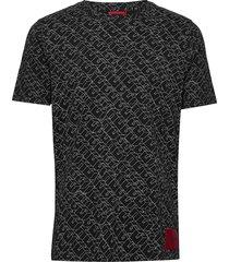 dantastic t-shirts short-sleeved svart hugo