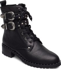 boot 4,2 cm shoes boots ankle boots ankle boot - heel svart sofie schnoor