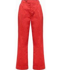 cellar door pantalone colore rosso