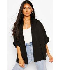 crepe kimono, black