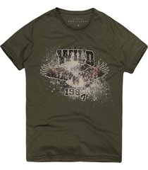 camiseta masculina wild 1984 militar - kanui