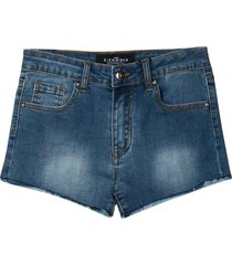 john richmond denim teen slim shorts