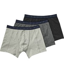 boxershorts 3-pak grijs