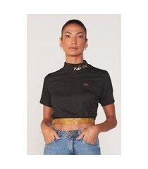 camiseta ecko feminina especial preta