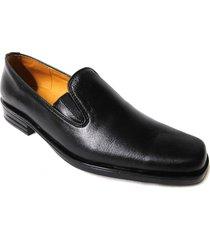 mocasin elegance younglife cuero negro